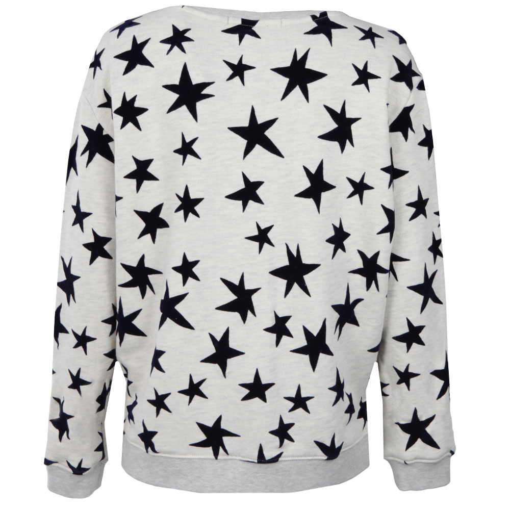 Star Print Crew Neck Sweat main image