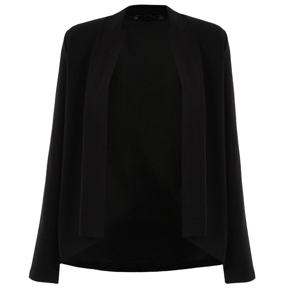 Josie Jersey Drape Front Jacket main image
