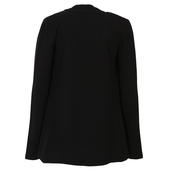 French Connection Womens Black Josie Jersey Drape Front Jacket main image