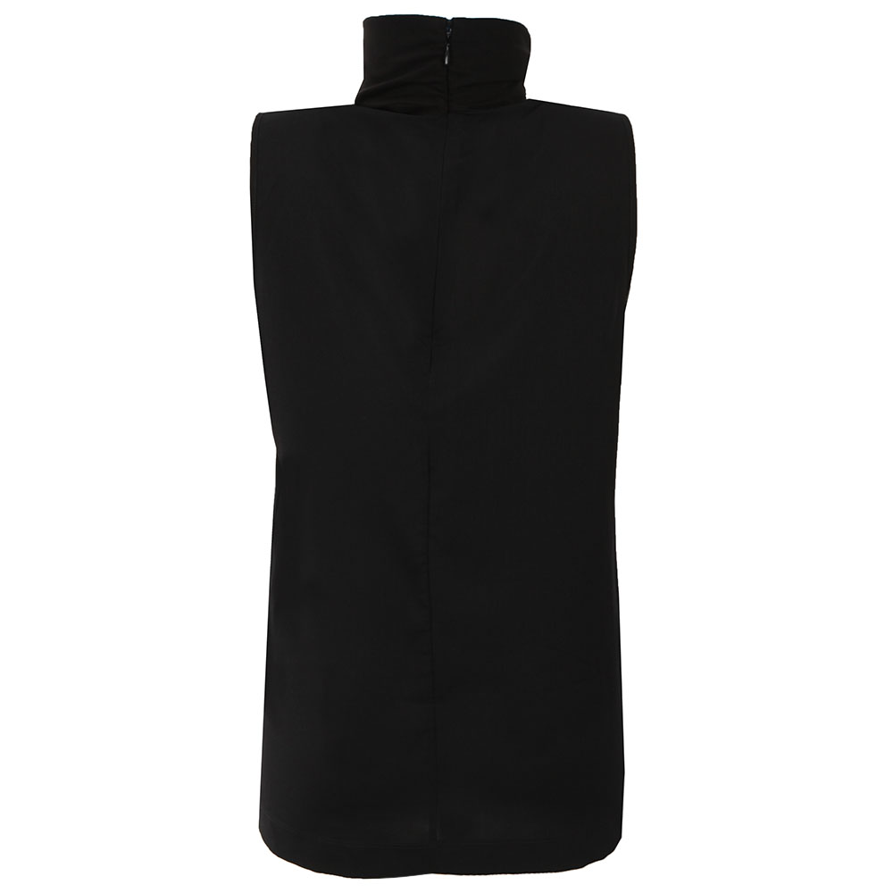 Polly Plains Sleeveless High Neck Top main image