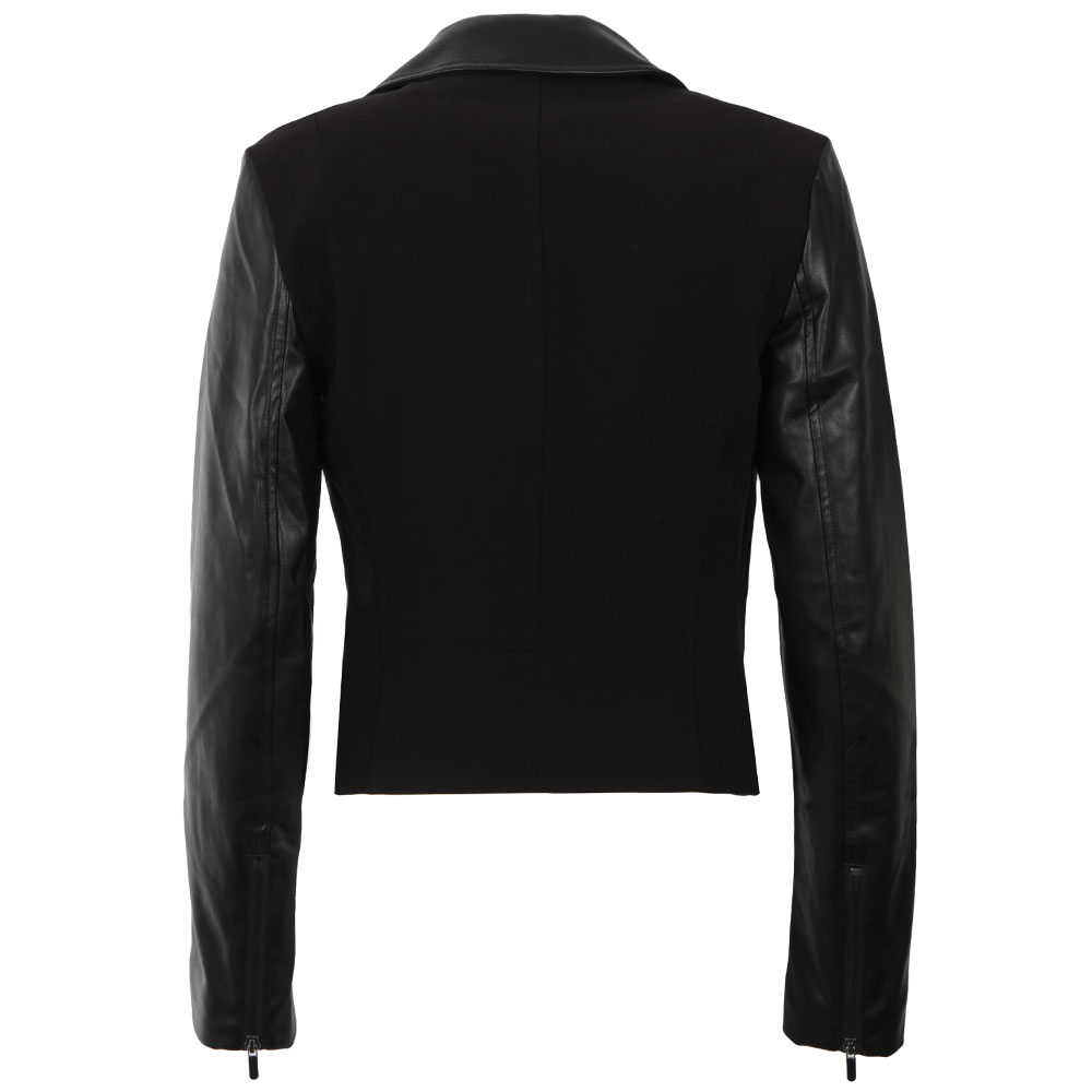 Alana Mix Biker Jacket main image