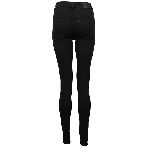 Levi's Womens Black Mile High Super Skinny Jean  main image
