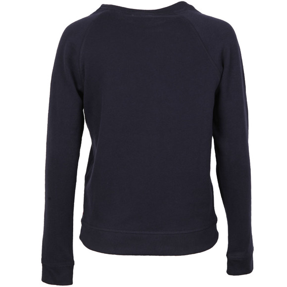 Levi's Womens Blue Classic Crew Sweatshirt main image