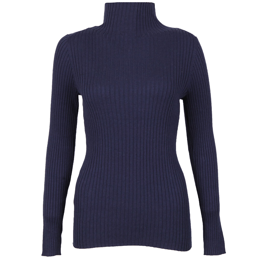 Bambino Rib Knit High Neck Jumper main image