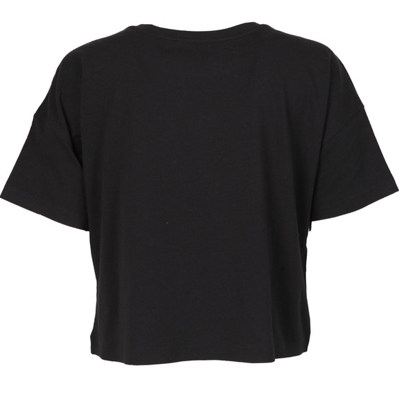 Calvin Klein Womens Black Institutional Logo Tee main image