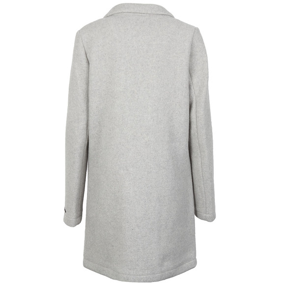 Maison Scotch Womens Grey Bonded Wool Coat main image