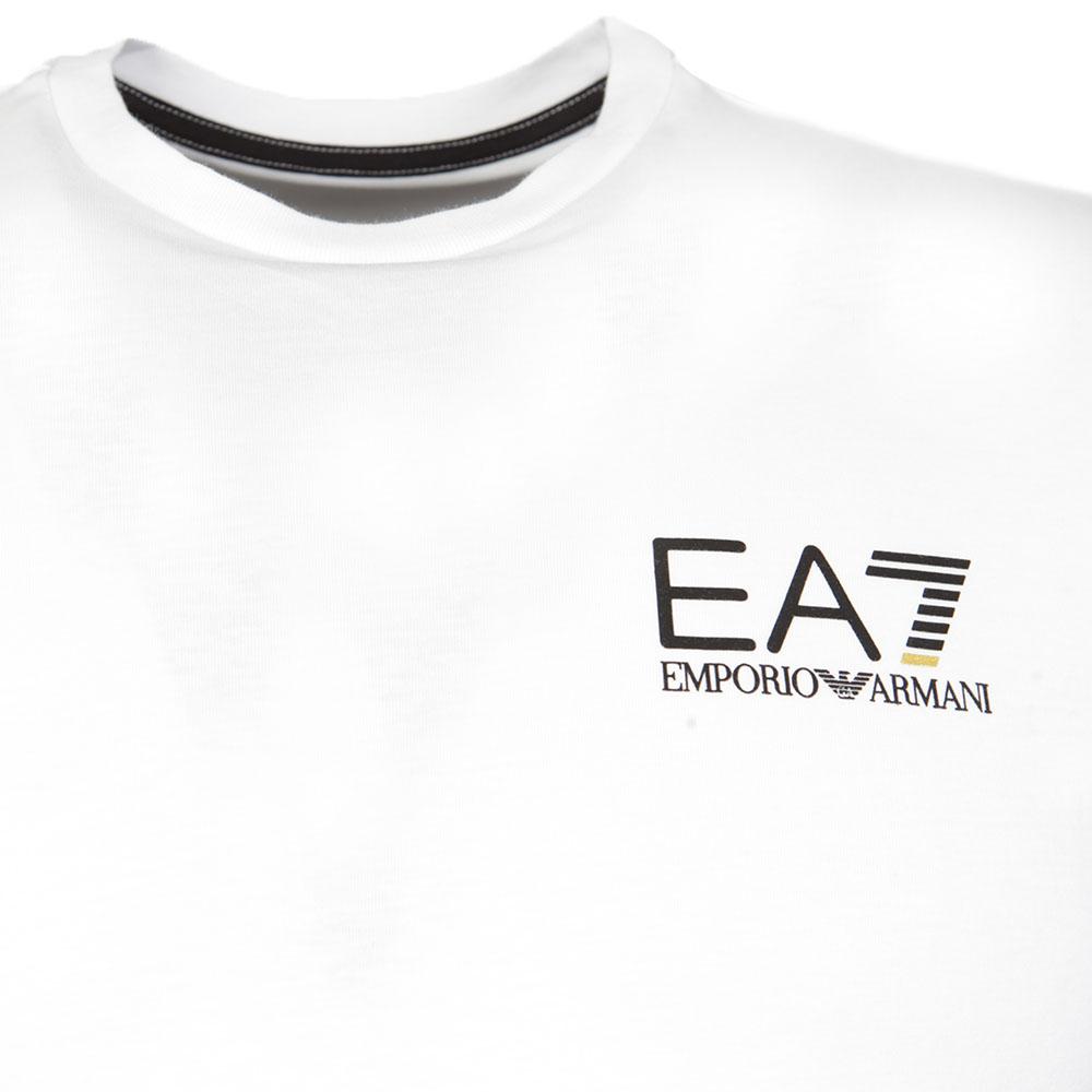 Ea7 emporio armani small logo crew t shirt masdings - Emporio giorgio armani logo ...