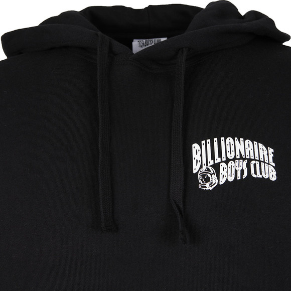 Billionaire Boys Club Mens Black Small Arch Logo Hoody main image