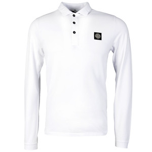 Long Sleeve Inlay Collar Polo Shirt