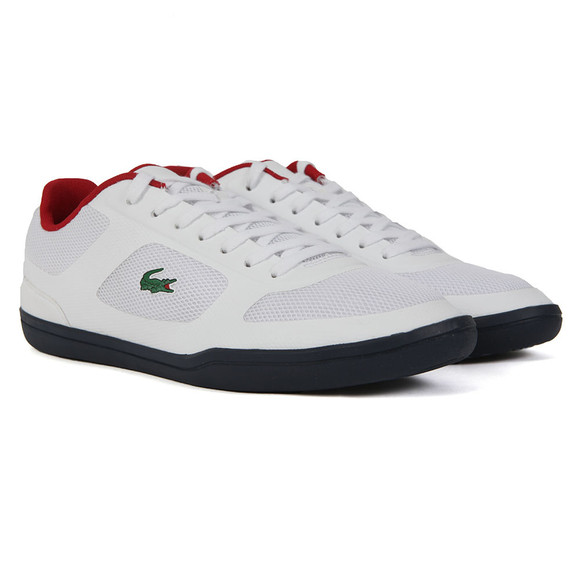Lacoste Sport Mens White Court-Minimal 316 Trainer main image