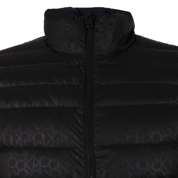 Calvin Klein Mens Grey Packable Down Gilet main image