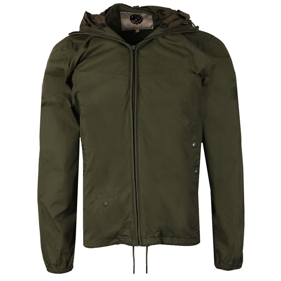 Pretty Green Mens Green Sevenoaks Jacket main image