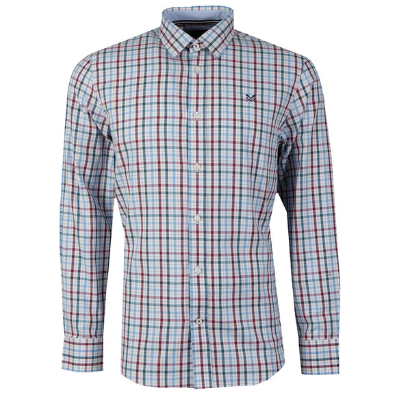Crew Mens Multicoloured L/S Bartley Shirt main image