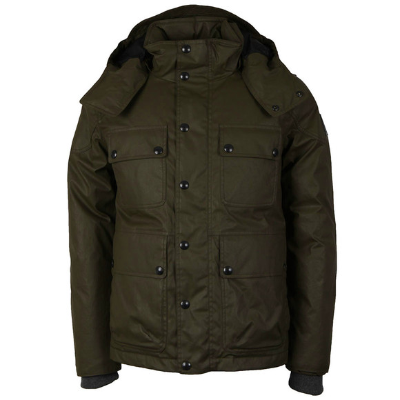 Belstaff Mens Brown Trialmaster Down Parka main image