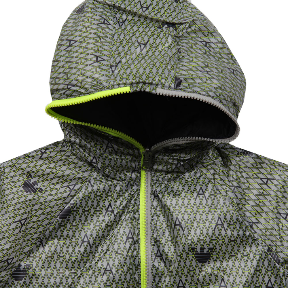 Allover Pattern Reversible Jacket main image