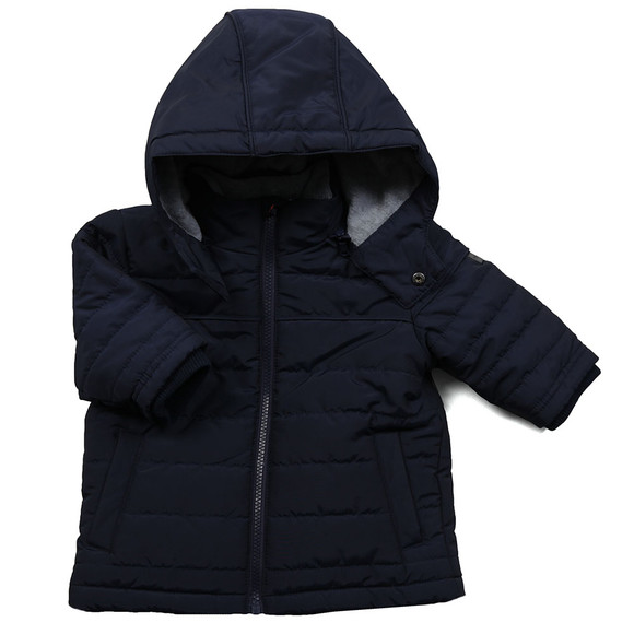 Boss Boys Blue Baby Puffer Jacket  main image