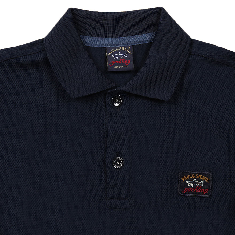 Plain Long Sleeve Polo Shirt main image