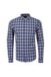 Scotch & Soda Mens Blue Shirt In Crispy Poplin