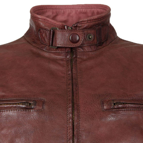 Matchless Mens Red Osborne Leather Blouson main image