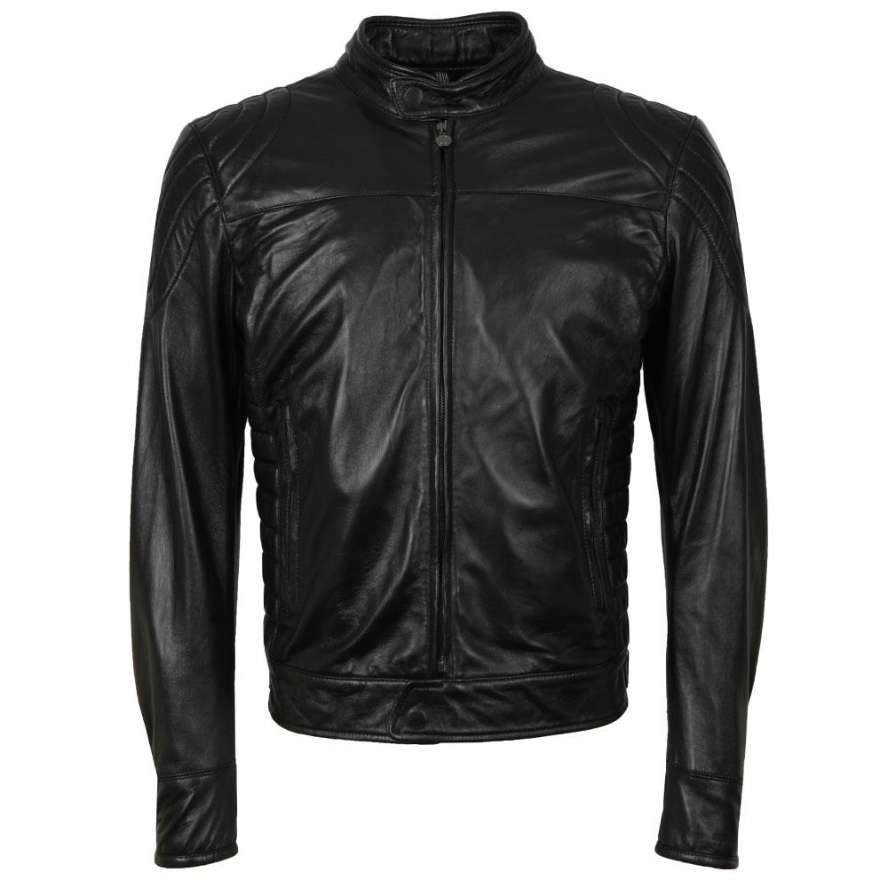 Model X  Reloaded Leather Blouson main image