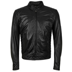 Model X  Reloaded Leather Blouson