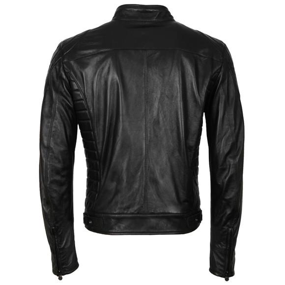Matchless Mens Black Model X  Reloaded Leather Blouson main image