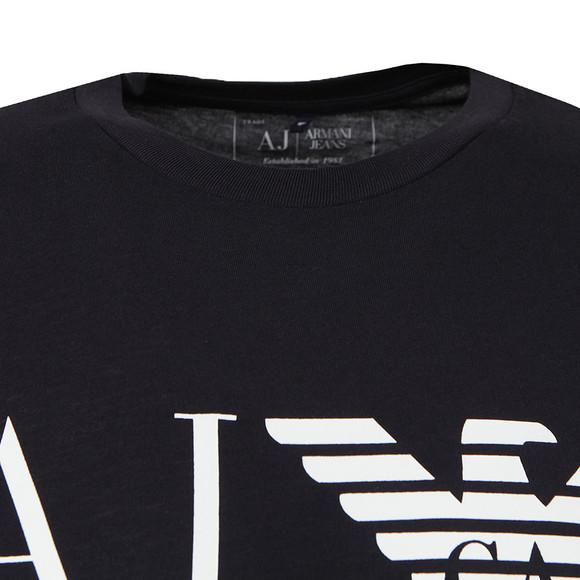 Armani Jeans Mens Blue 8N6T99 Logo T Shirt main image