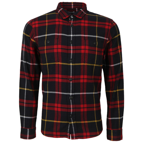 Edwin Mens Red Labour Flanel Shirt main image