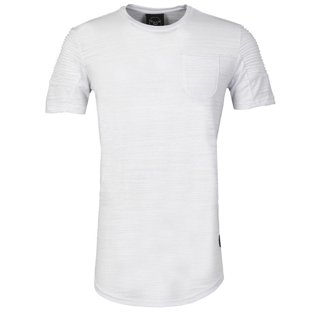 Pleated Sleeve T Shirt main image
