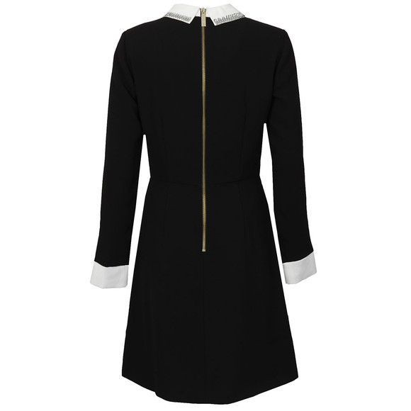 Ted Baker Womens Black Timu Collar Detail Dress main image