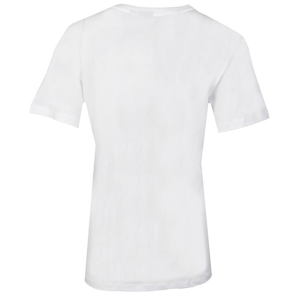 Adidas Originals Womens White BF Trefoil T Shirt main image