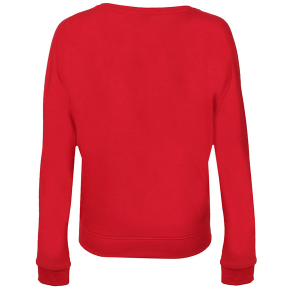 Maison Scotch Womens Red Super Soft Easy Fit Sweat main image