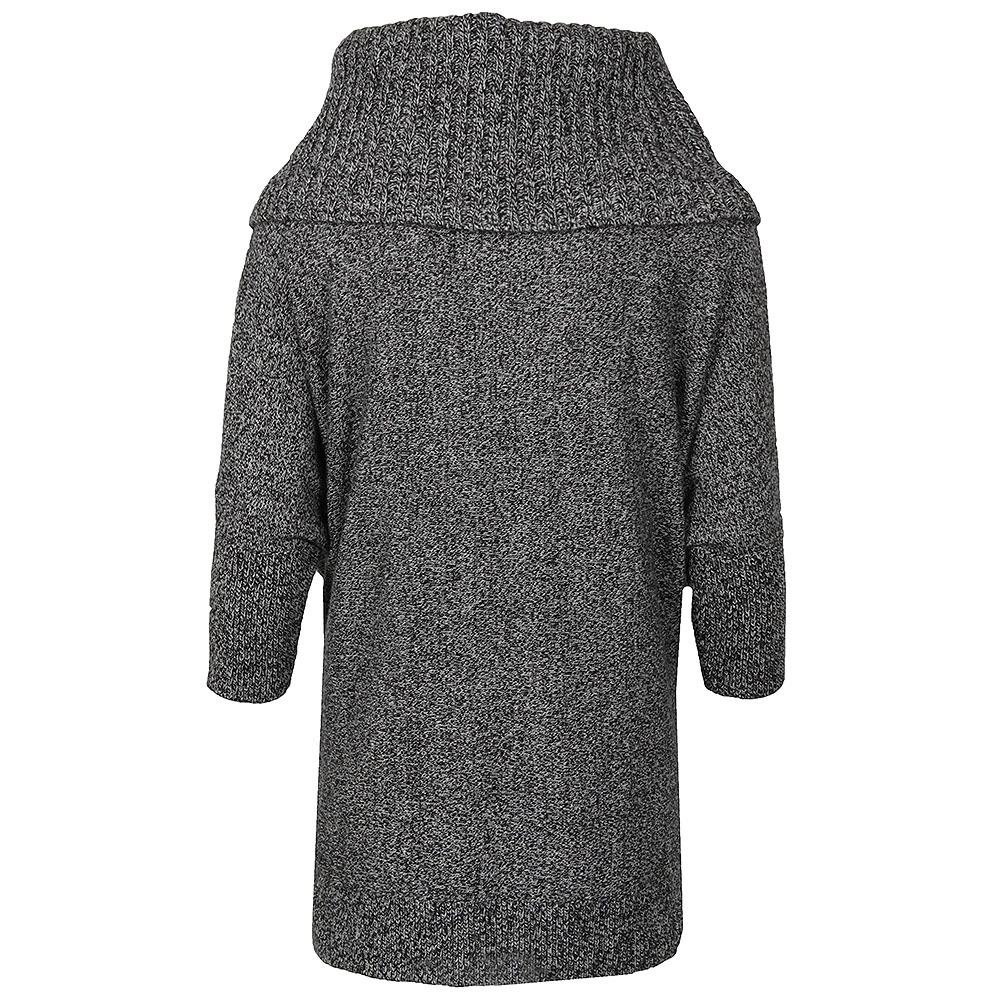 3/4 Sleeve Knitted Poncho main image