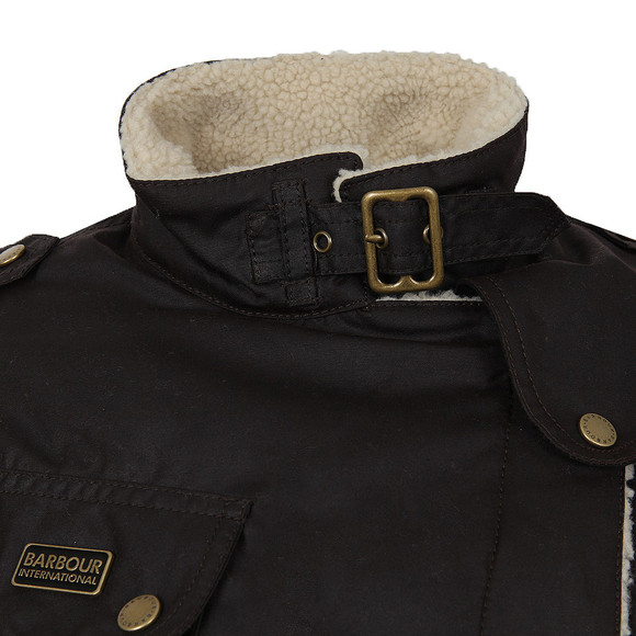 Barbour International Womens Brown Matlock Wax Jacket main image