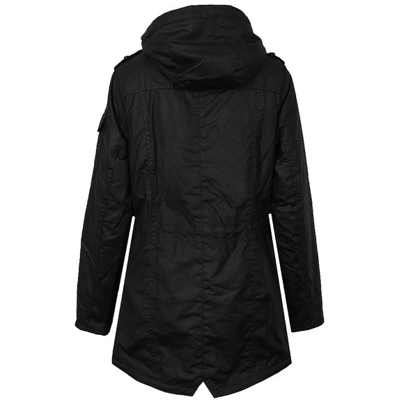 Barbour International Womens Black Flywheel Parka  main image