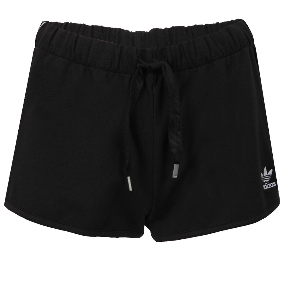 f4f24f21a2 adidas Originals Womens Black Slim Shorts
