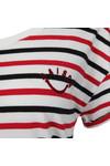 Maison Scotch Womens White Short Sleeve T Shirt