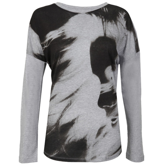 Barbour International Womens Grey Fins T-Shirt main image