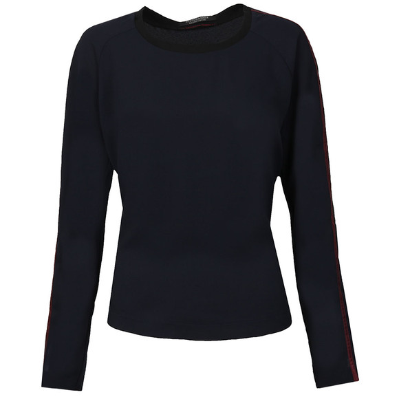 Maison Scotch Womens Blue Silky Feel Top main image