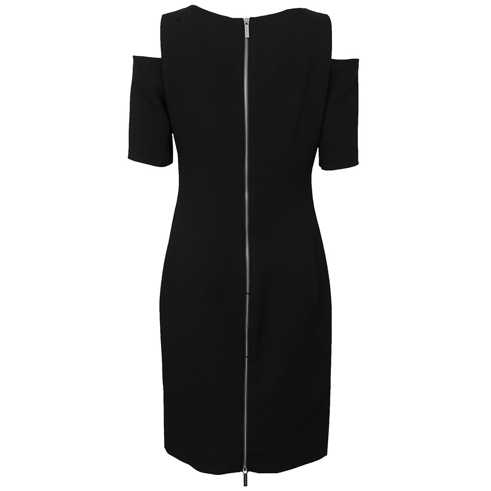 Structured Cut Out Dress main image