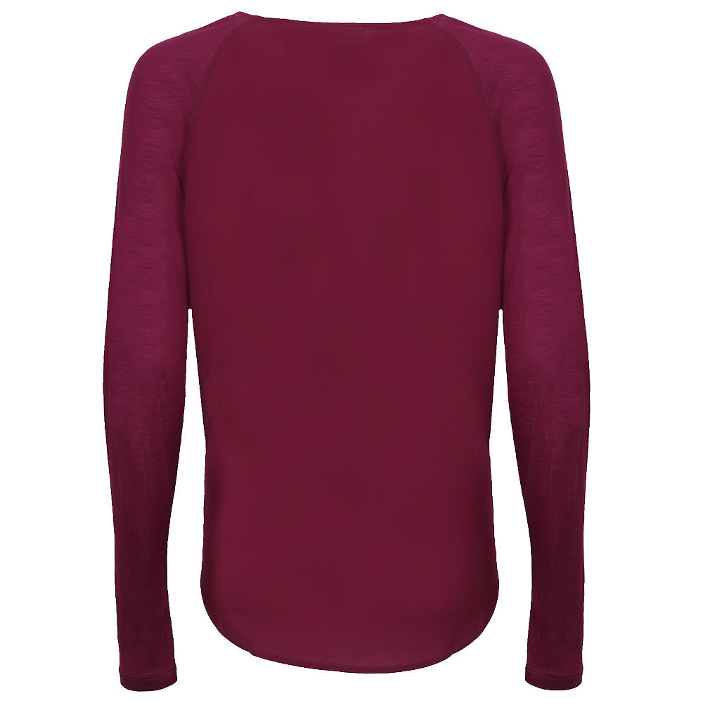Polly Plains Long Sleeve Raglan Top main image