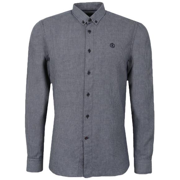 Henri Lloyd Mens Blue L/S Lagan Shirt main image