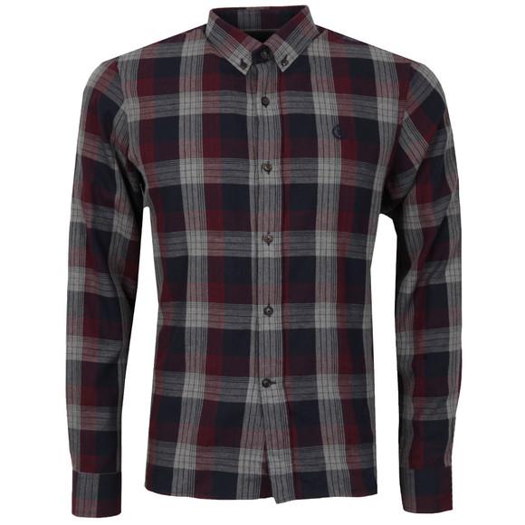 Henri Lloyd Mens Red L/S Newberry Check Shirt main image