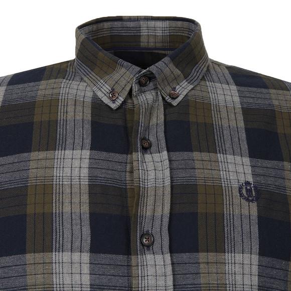 Henri Lloyd Mens Green L/S Newberry Check Shirt main image