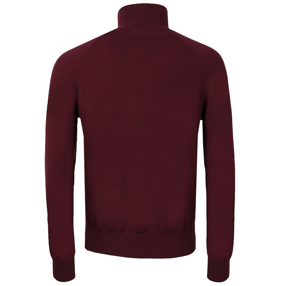 Henri Lloyd Mens Red Moray 1/2 Zip Jumper main image