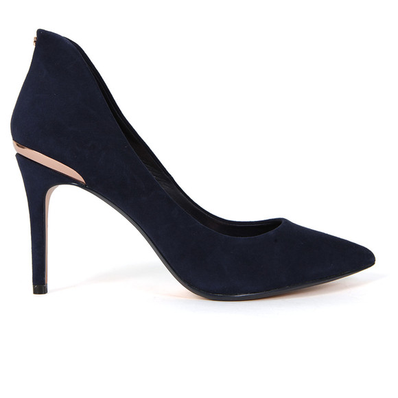 Ted Baker Womens Blue Saviy Pointed Court Shoe main image