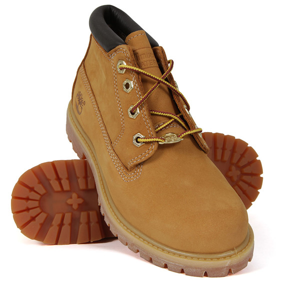 Timberland Womens Beige Nellie Waterproof Chukka Boot main image