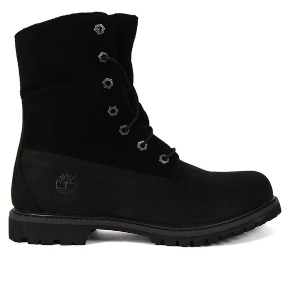 Timberland Womens Black Authentic Teddy Fleece Boot main image