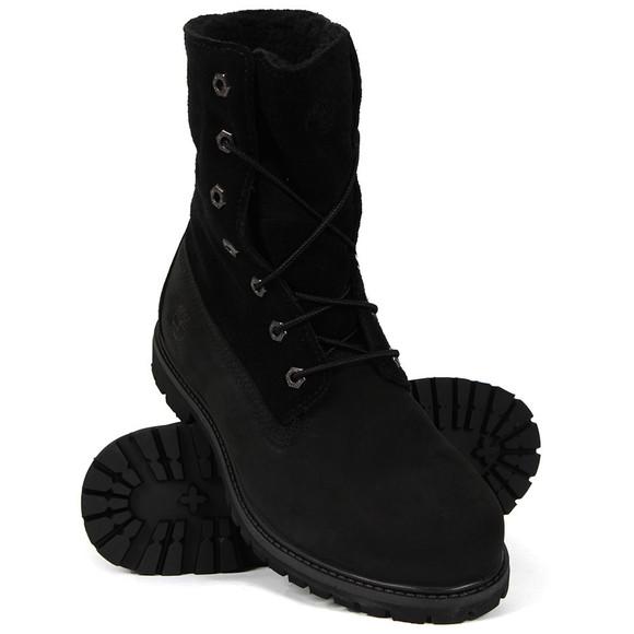 Timberland Womens Black Authentic Teddy Fleece Boot main image