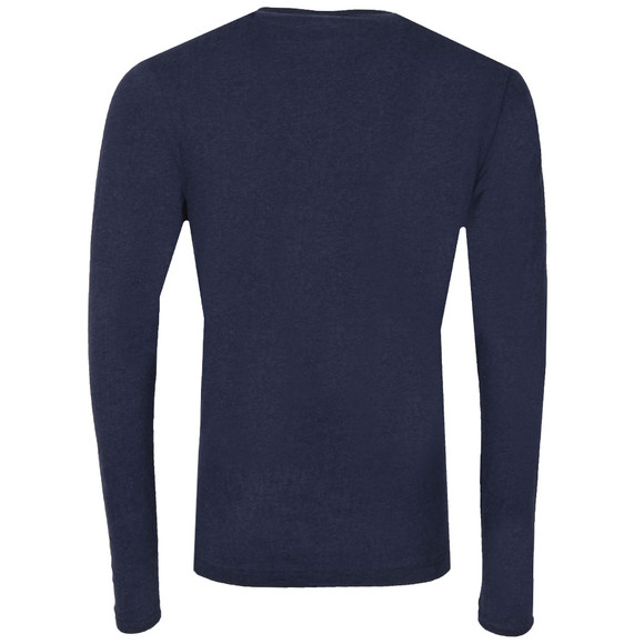 Luke Mens Blue Middle Wickets LS Crew Tee main image